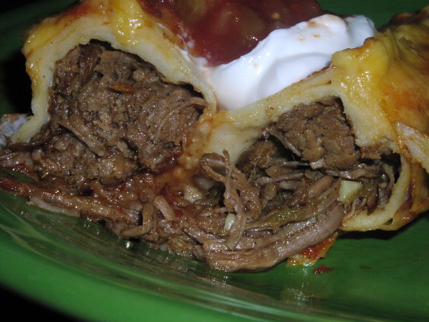Shredded Beef Enchiladas Recipe - Food.com