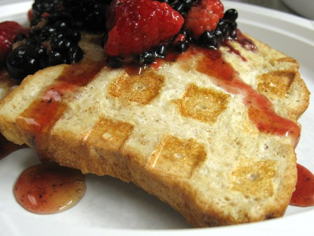 Waffle-Style French Toast Recipe - Breakfast.Food.com