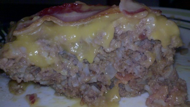 Cheddar Cheese Bacon Meatloaf Recipe - Food.com