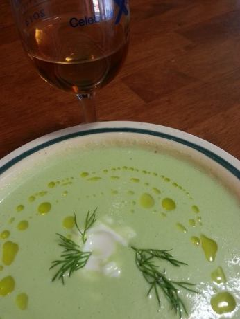 Chilled Cucumber Yogurt Soup Recipe - Food.com