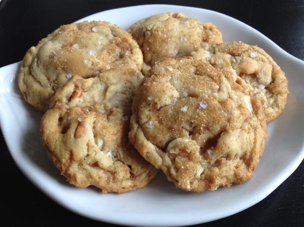 Heath Salted Caramel Cookies Recipe Food Com