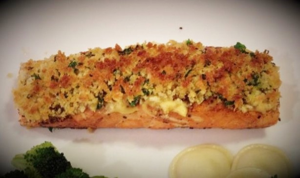 how to cook panko salmon