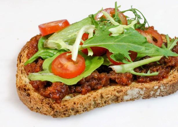 how to make bruschetta bread recipe