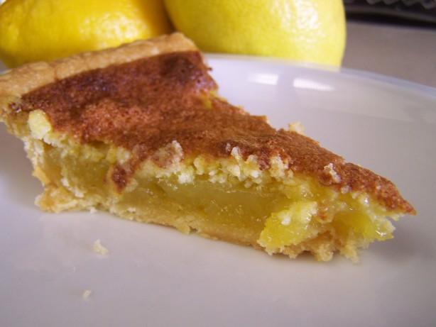 Southern Lemon Chess Pie Recipe - Food.com