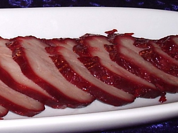 Barbecued Red Roast Pork Tenderloin Recipe Chinese Food Com