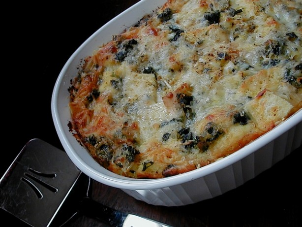 Spinach And Cheese Strata Recipe - Food.com