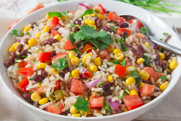 how to cook rice and red beans together