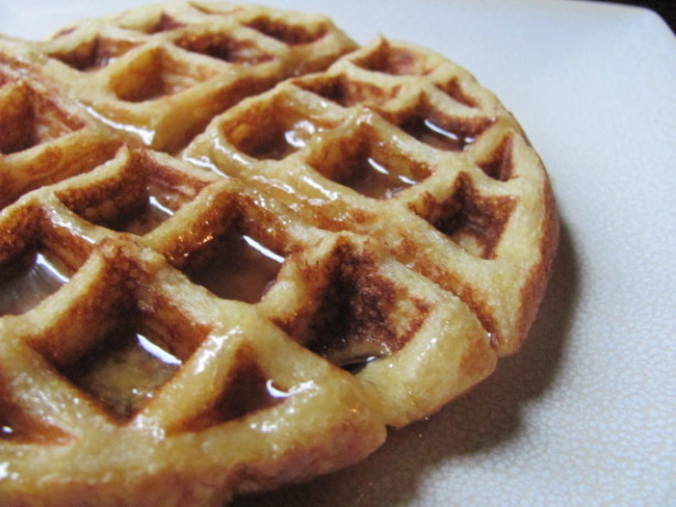 Crispy Cornmeal Waffles Recipe - Food.com