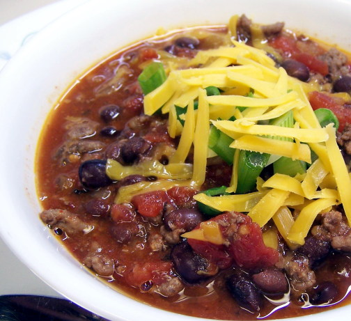 Turkey Black Bean Chili Recipe - Food.com
