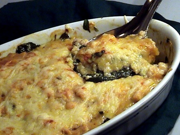 Spinach And Mushroom Casserole Recipe - Food.com