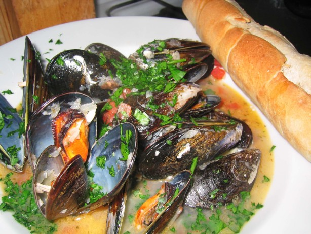 how to cook mussels recipe