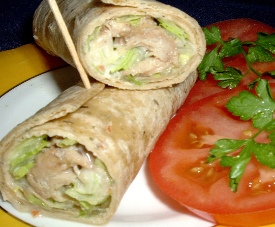 Chicken Caesar Wrap Recipe - Food.com