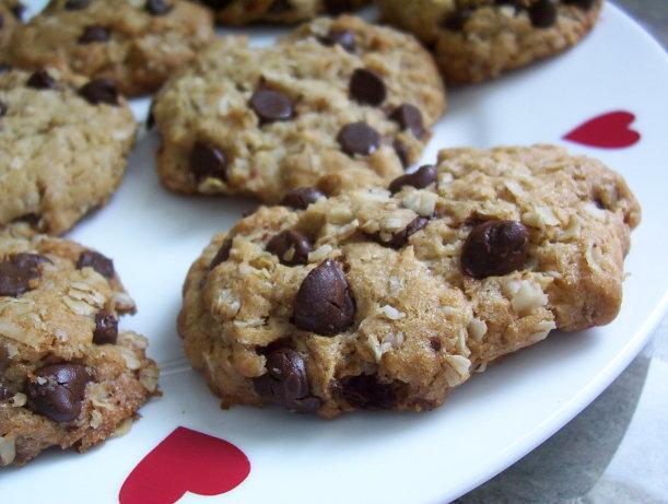 Oatmeal Coconut Chocolate Chip Cookies Recipe - Food.com