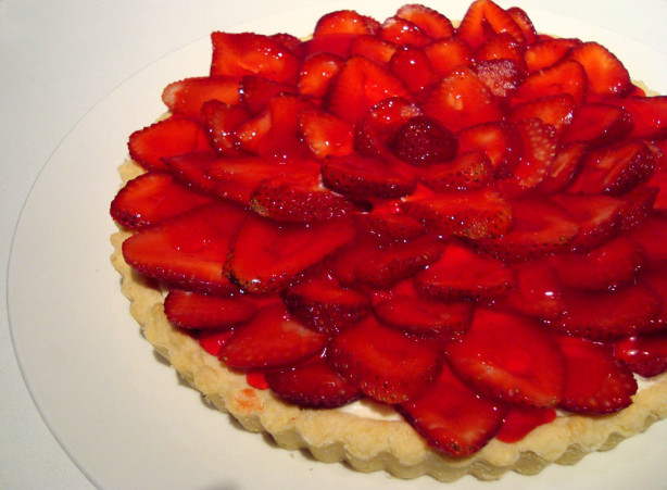 Strawberry Cream Cheese Tart Recipe - Food.com