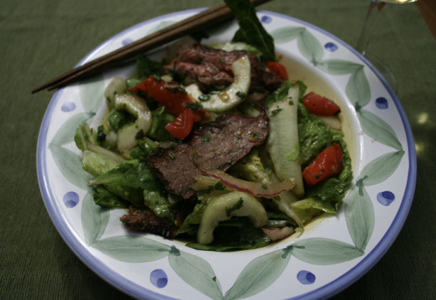 Thai Salad With Grilled Flank Steak Recipe - Food.com