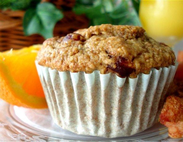 Low Fat Oat Muffins 32