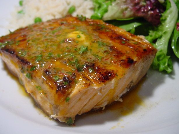 Grilled Salmon With Chipotle-Herb Butter Recipe - Food.com