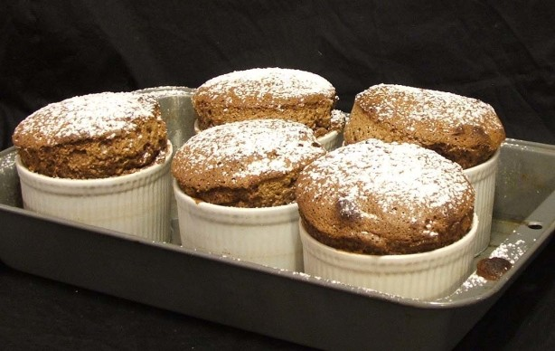 chocolate souffle recipe. Black Bedroom Furniture Sets. Home Design Ideas