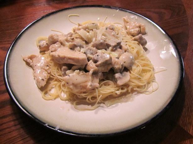 Chicken And Mushrooms In Sherry-Cream Sauce Recipe - Food.com