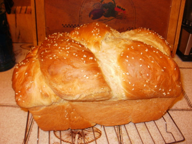 Bread Machine Kneaded Challah Recipe Food Com