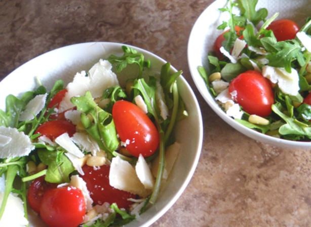 Tomato, Arugula Rocket) And Parmesan Salad Recipe - Food.com