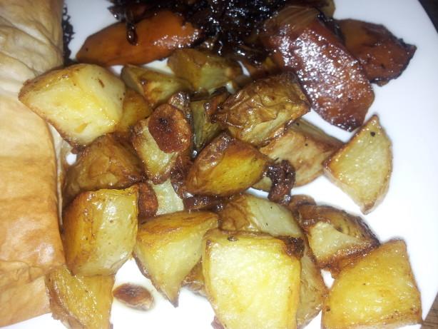 Garlic Roasted Potatoes Recipe - Food.com