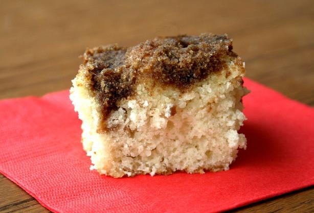 Easy Cinnamon Coffee Cake Recipe Food Com