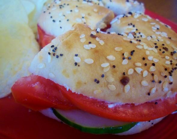 Vegetarian Bagel Sandwich Recipe - Food.com