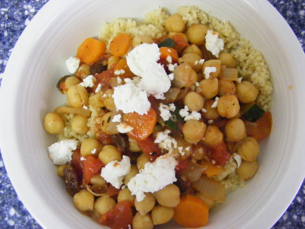 Moroccan Chickpea And Vegetable Stew With Couscous Recipe - Food.com