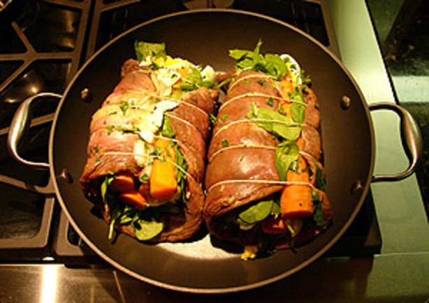 Matambre - Argentine Rolled, Stuffed Flank Steak Recipe - Food.com
