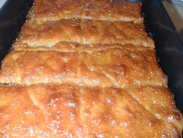 Quick Crescent Baklava Recipe - Dessert.Food.com