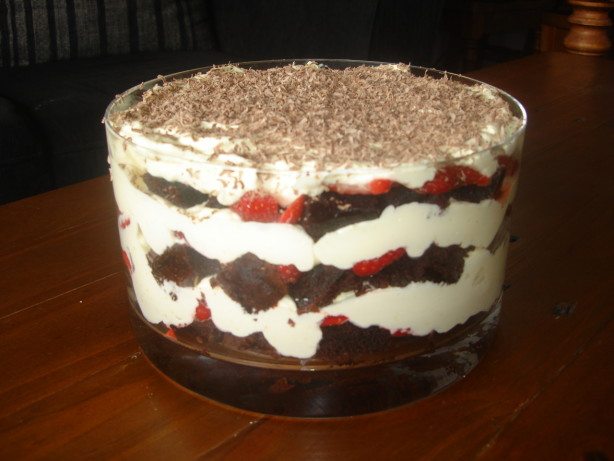 Pound Cake Chocolate Trifle