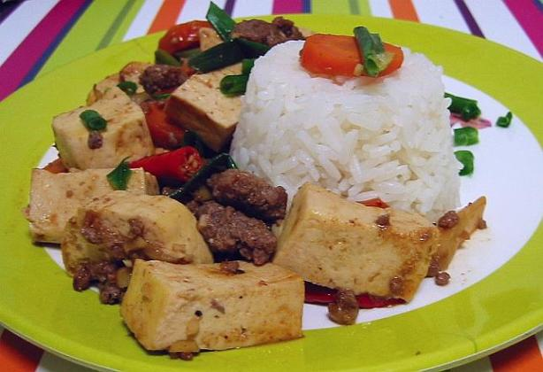 Hot And Spicy Tofu And Beef Recipe - Food.com