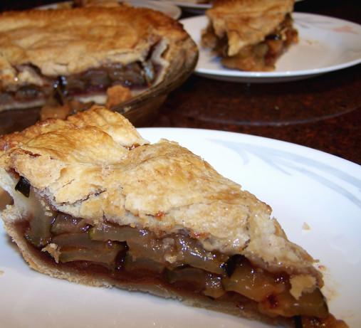 Food Recipe Zucchini Mock Apple Pie