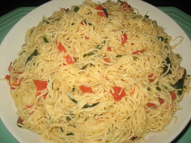 Better Than Olive Garden Pasta Pomodoro Recipe