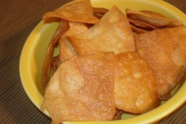 food list for camping - Crispy Tortilla Chips