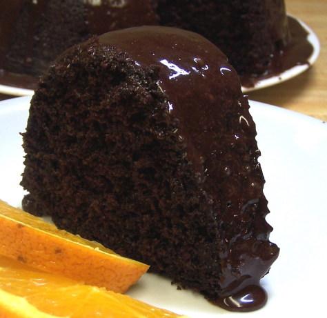 Chocolate-Orange Truffle Cake Recipe - Food.com