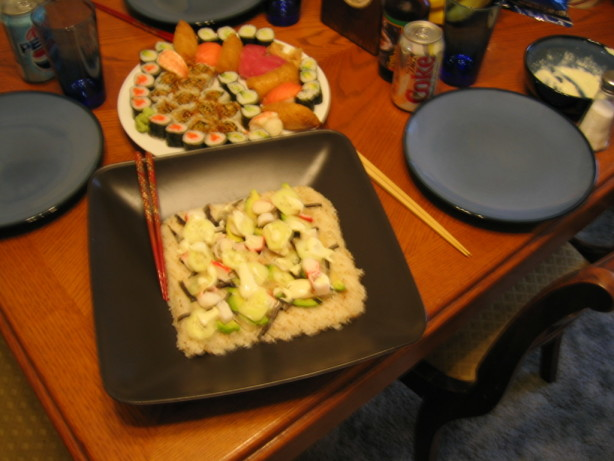 Sushi Pizza Recipe Food Com