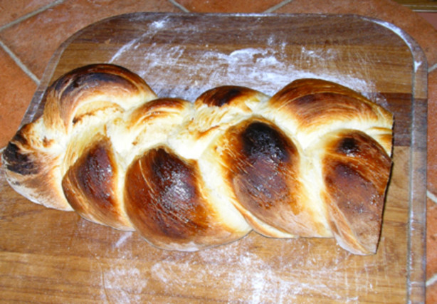 Challah ii with maple syrup glaze eggless version recipe - Kitchenaid challah ...