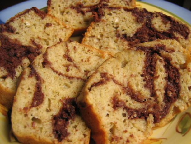 Marbled Chocolate Banana Bread Recipe - Food.com