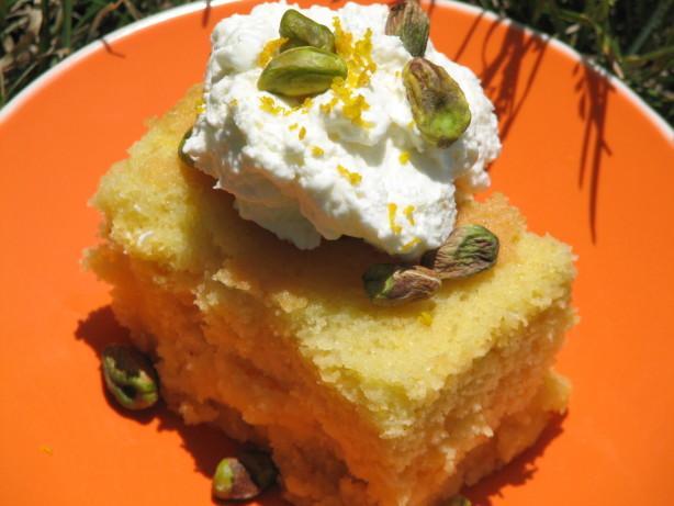 Revani Greek Cake Using Semolina Recipe Food Com