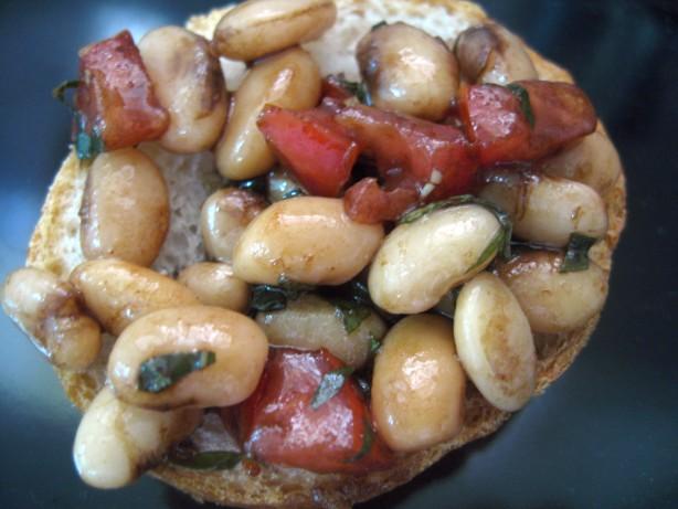 White Bean Bruschetta Recipe - Food.com