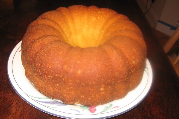 Mixing A Pound Cake And Regular Cake Mix