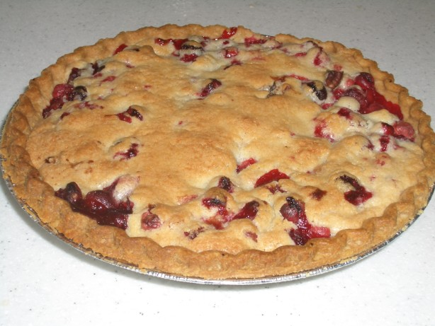 Cranberry, Almond, And Cinnamon Tart Recipe — Dishmaps
