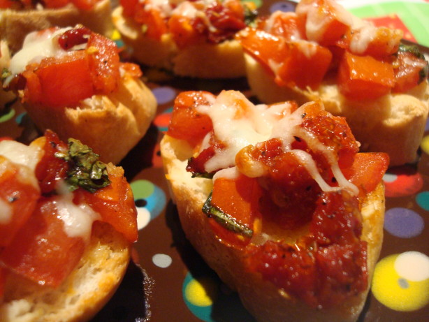 Double Tomato Bruschetta Recipe - Italian.Food.com