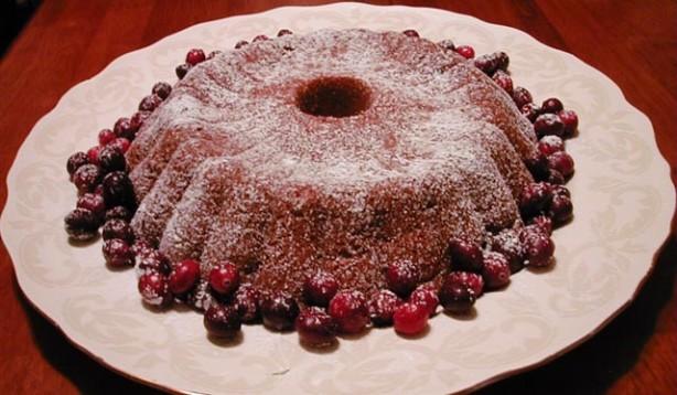 Moosewood Cranberry Tea Cake
