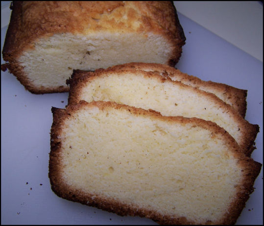 The Most Ultimate Buttery Cream Cheese Pound Cake Recipe