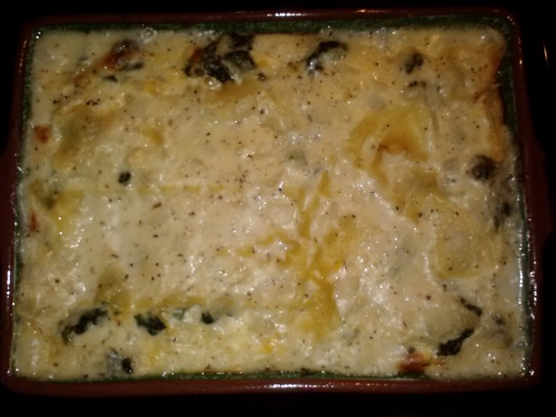 White Cheese Chicken Lasagna Recipe - Food.com