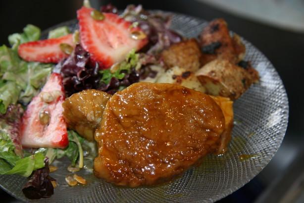 Pork Loin With Mustard Glaze Recipe - Food.com
