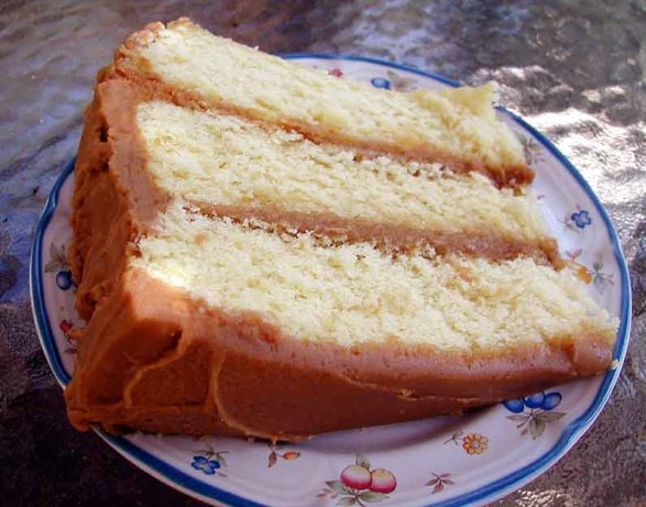 Brown-Sugar Layer Cake With Caramel Buttercream Frosting Recipe ...